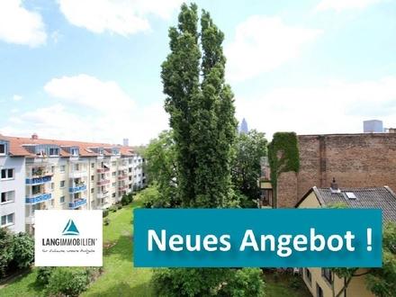 +++ BOCKENHEIM! Helle 2-Zimmer-Wohnung mit Balkon zu vermieten +++