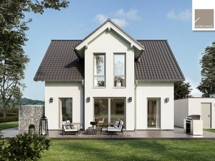 Familienhaus mit schönem Quergiebel für viel Licht im Dachgeschoss!
