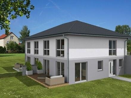 Neubau von 4 Doppelhaushälften in Amorbach