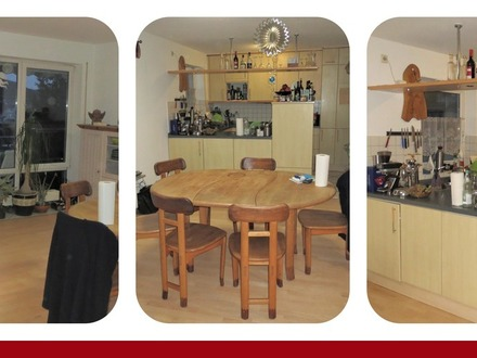*** Große 6 Zimmer-Maisonette-Wohnung mit separatem Eingang + Balkon + Garage ***