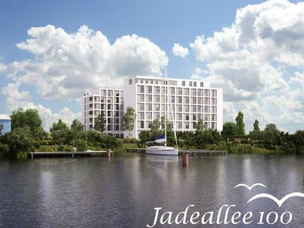 Großzügige Neubau-Penthouse-Wohnung mit fantastischem Blick auf das umliegende Wasser!