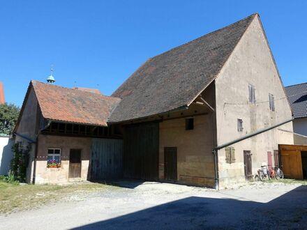1 1 2. 5 0 0,- für 2 7 3 qm SCHEUNE auf 4 1 5 qm Grund im Kirschendorf Kalchreuth
