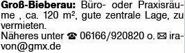 Gewerbe in Groß-Bieberau (64401)