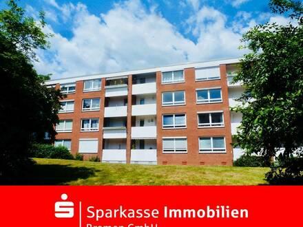 Top modernisierte Eigentumswohnung in grüner Lage in der beliebten Gartenstadt-Vahr