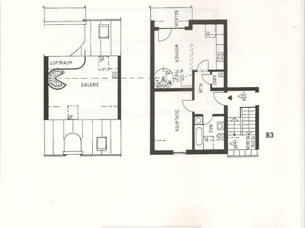 2 Zimmer-Galeriewohnung in Naila zu vermieten
