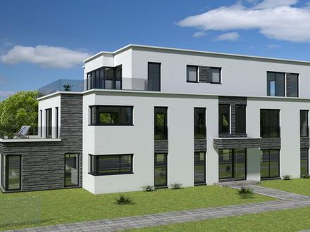 4 ZKB-Neubau-Erdgeschosswohnung mit Terrasse + Privatgarten in Oerlinghausen-Helpup!