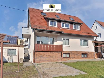Freistehendes 2-Familienhaus mit großen Wohnungen und tollem Garten in Backnang-Steinbach
