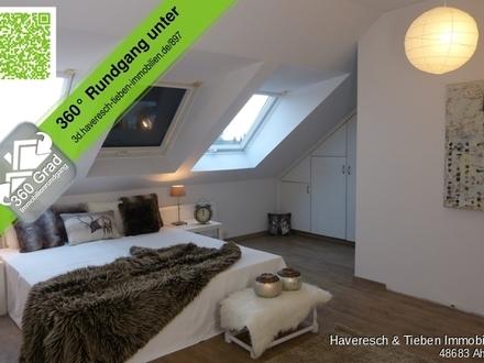 Maisonette-Wohnung über den Dächern von Gronau!