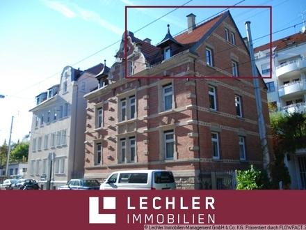 Altbaucharme: Neu sanierte 3-Zimmer Dachmaisonette in begehrter Lage