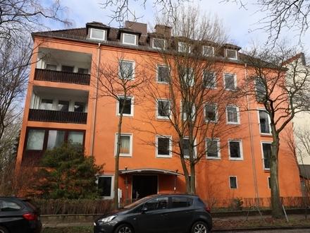 Klein, aber fein! Ein-Zimmer-Appartment im beliebten Barkhof-Viertel