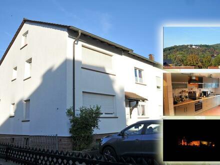 3 Zimmerwohnung (93 qm) in Kleinheubach, nähe Schloss, mit Blick ins Grüne und auf den Engelberg