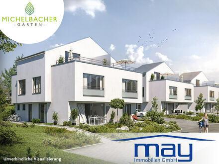 Doppelhaushälfte-Neubau in Südwest-Ausrichtung!