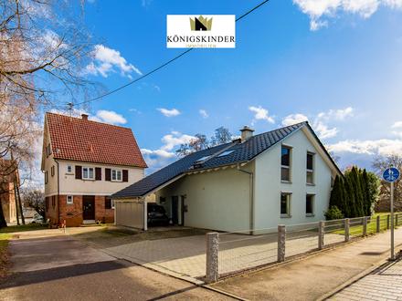 Ökologisches Einfamilienhaus mit eigener Energiegewinnung in schöner Ortsrandlage von Gäufelden