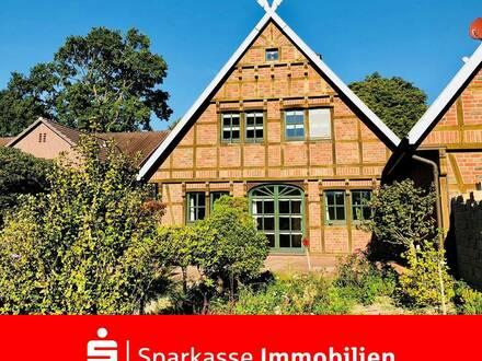 Gelegenheit für Liebhaber und Kenner: Traumhaftes Einfamilienhaus in Worpswede