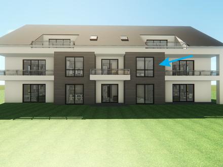 Modern und bei bester Belichtung 2-Zimmer-Mietwohnung mit Loggia