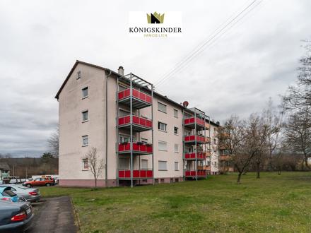 Preiswerte 2-Zimmerwohnung in Mosbach