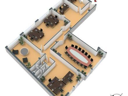 Aufteilung 3. OG (250m²)