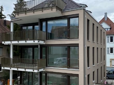 """Exklusive, sonnige 4,5 Zi.-Wohnung auf zwei Etagen mit Balkon, EBK und Dachterrasse """"Auf dem Haigst"""""""
