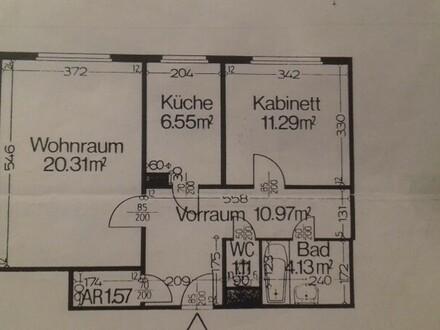 Helle 2-Zimmer-Wohnung in Toplage des 6. Bezirks