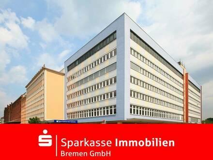 Überseestadt Büroflächen 3.000m², teillbar