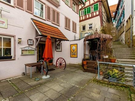 Interessantes Restaurant in der Nähe vom Marktplatz in Herrenberg