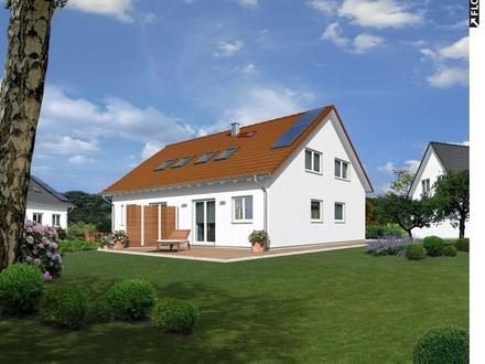 Doppelhaushälfte in Leopoldstal mit 400 m² Grundstück