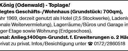 Wohnen in Bad König (Odenwald) (64732)