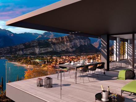Wer braucht bei solch einer Aussicht noch Vorhänge? Lifestyle mit großer Terrasse in Neubauprojekt