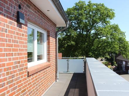 Wohnkomfort auf der ganzen Linie…im Herzen von Dörpen ! 2-Zimmer-Dachgeschosswohnung mit Fahrstuhl !