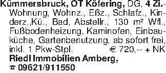 Kümmersbruck, OT Köfering, DG,...