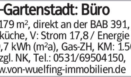 BS-Gartenstadt: Büro
