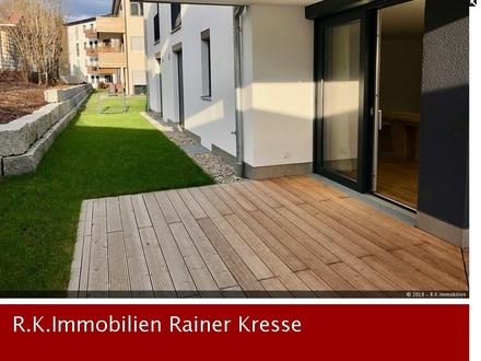 Neuwertige 3-Zimmer Ergeschosswohnung mit eigenen Gartenteil und gehobener Ausstattung