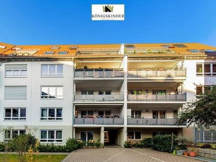 Barrierefreie 3-Zimmer-Erdgeschosswohnung in schöner Lage von Bad-Cannstatt + EBK + Terrasse