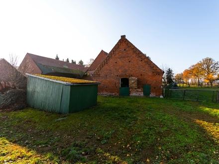 Großer Resthof in der nähe von Bremen mit 8048 m² Grünland direkt beim Hof zu verkaufen!