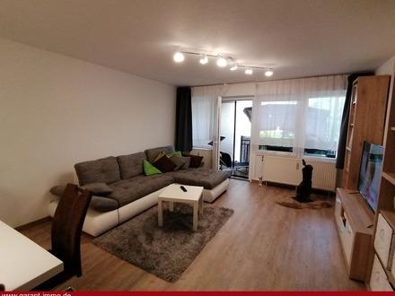 Schöne 2 Zimmer-Wohnung mit Einbauküche, Balkon und Tiefgaragenstellplatz!