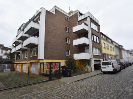 Bremen-Steintor: Gepflegte 2-Zimmer-Wohnung mit Balkon in begehrter Lage! Obj.4970
