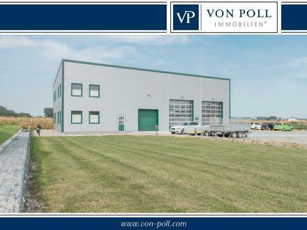 Exclusive Industriehalle mit großem Grundstück für zusätzliches Wohnhaus