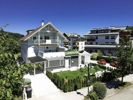Krumpendorf - Moderne Gartenwohnung mit 45 m² Terrasse und Süd-West Ausrichtung in Seenähe