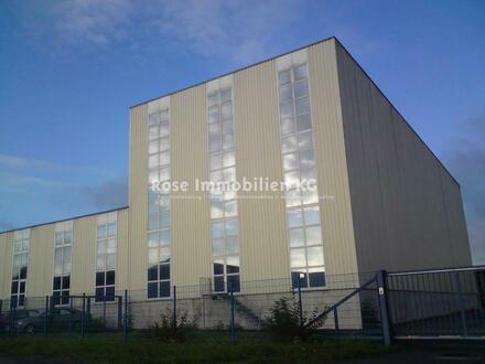 ROSE IMMOBILIEN KG: Kaltlagerhalle mit Hochregal in Löhne zu vermieten! Nahe BAB 30 / BAB2