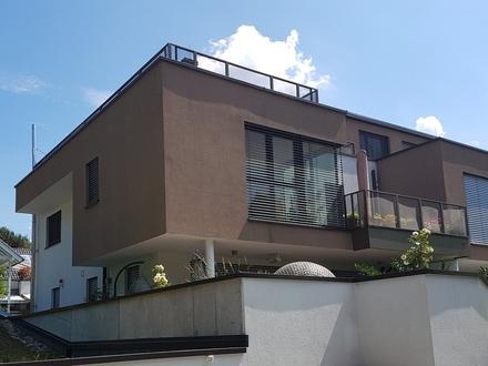 Exklusive Terrassenwohnung mit höchstem Komfort und Traumblick! Stadtnahe Ruhelage!