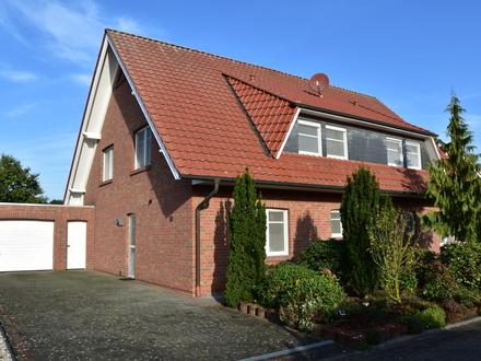 Edewecht: Doppelhaus mit 2 Wohneinheiten in ruhiger Wohnlage, Obj. 4931