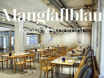 """Fabrikrestaurant Mangfallblau / Eventlocation bei """"Gmund Papier"""""""