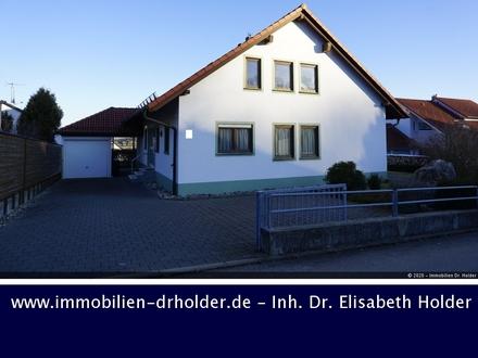 VERKAUFT !!! Biosphärengenuss: EFH mit Rohbau-Einlieger-Whg,Terrasse und Garage! Kauf, Hayingen
