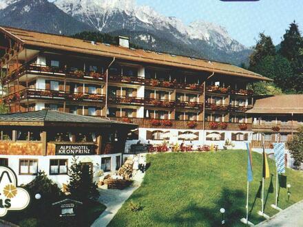 1-Zi.-App. Hotel Kronprinz; Berchtesgaden