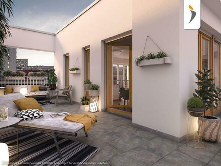 Zeitgemäßer Komfort: 3-Zimmer-Wohnung mit sonniger Dachterrasse