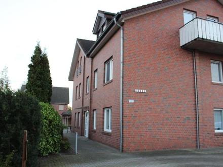 Erdgeschosswohnung in ruhiger Lage von Haren mit Terrasse u. Kellerraum !