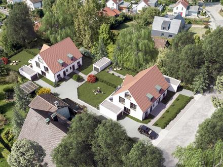 LAYER Haus AG Doppelhaushälfte mit herrlichem Südgarten in Greifenberg