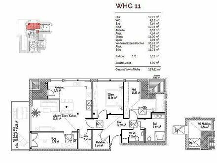 Exklusive 4-Zimmer-Neubauwohnung