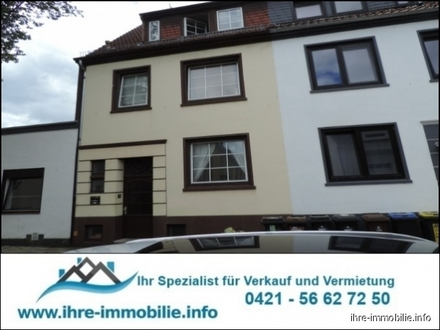 Findorff-Toplage Mehrfamilienhaus mit drei abgeschlossenen Wohnungen mit Balkon