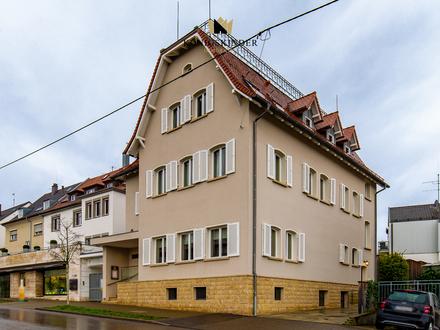Wohn- und Geschäftshaus mit besonderem Ambiente in bester Lage am Stuttgarter Killesberg